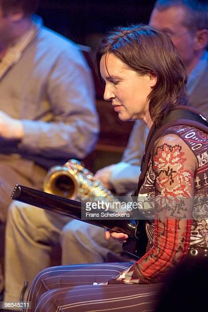 Guitarist Corrie van Binsbergen performs live at BIM Huis in Amsterdam, Netherlands on May 04 2005