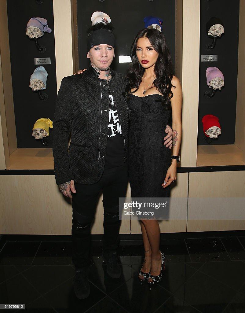 Ashba Clothing Store Grand Opening In Las Vegas : News Photo
