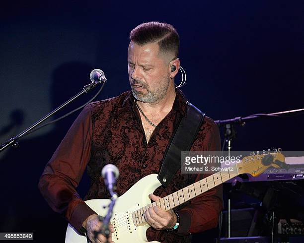 Guitarist Doug Jackson of Ambrosia performs during his appearance at the weSpark Cancer Support Center Benefit Concert 'An Evening with Michael...