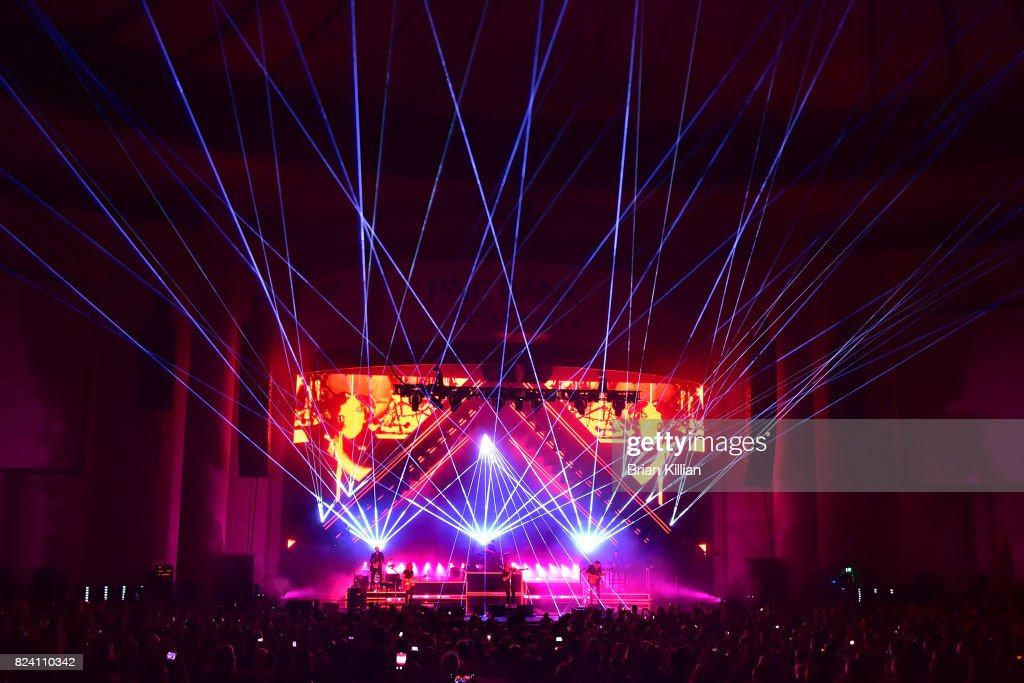 OneRepublic With Fitz & The Tantrums And James Arthur In Concert - Holmdel, New Jersey : News Photo
