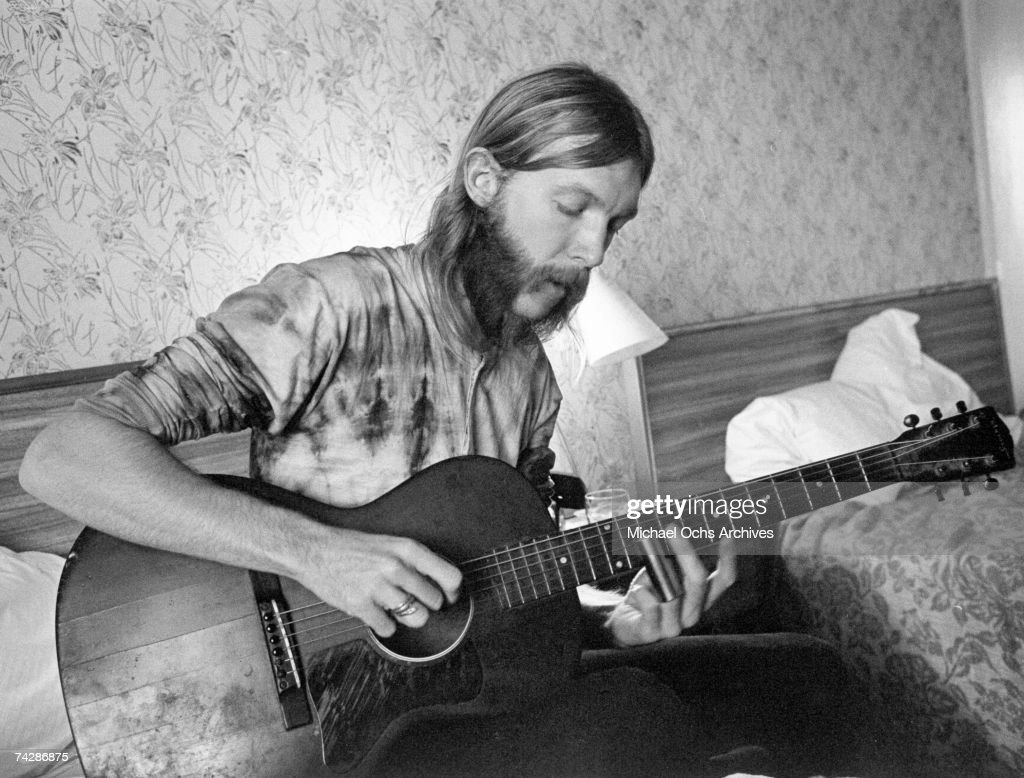 Duane Allman In South Carolina : News Photo
