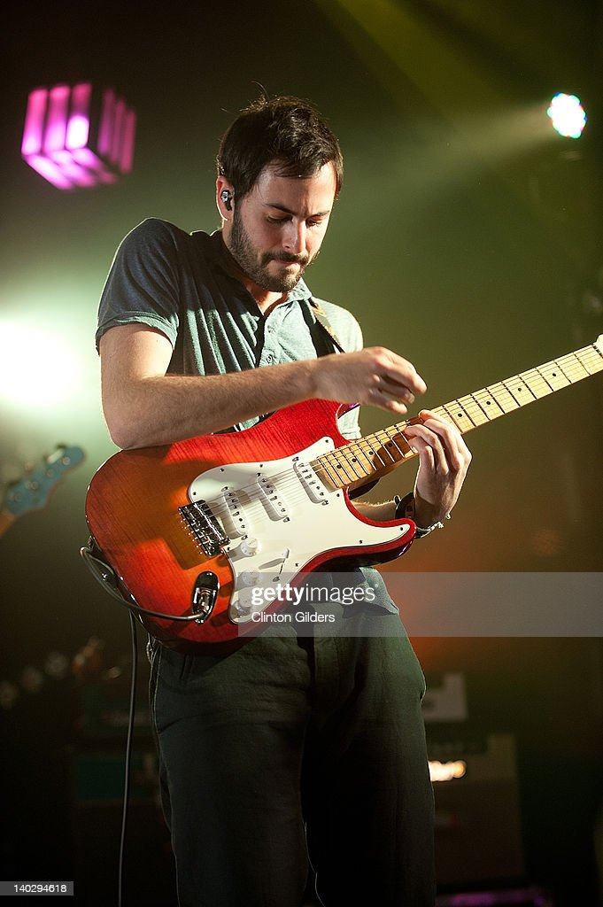 Guitarist Eric Cannata of Young The Giant performs at The Sound Academy on March 1, 2012 in Toronto, Canada.