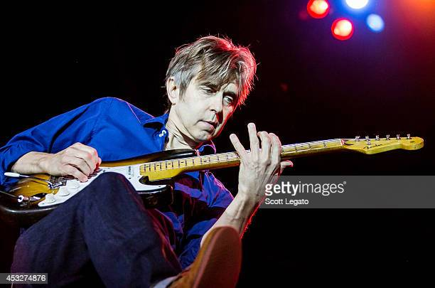 Guitarist Eric Johnson performs at Meadow Brook Music Festival on August 6 2014 in Rochester Michigan