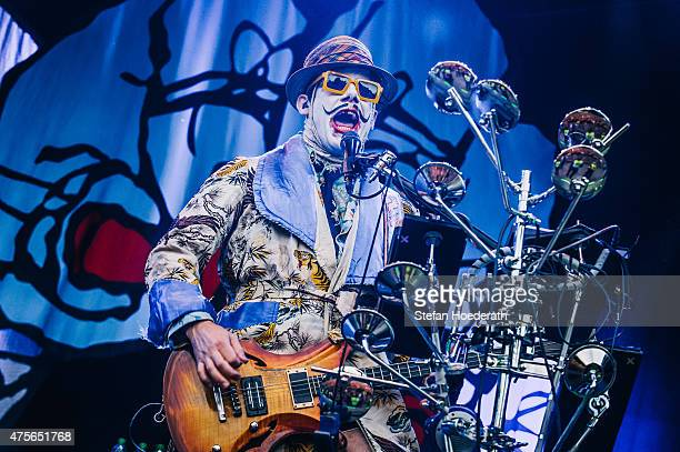 Guitarist Es Borland of Limp Bizkit performs live on stage during a concert at Zitadelle Spandau on June 2 2015 in Berlin Germany