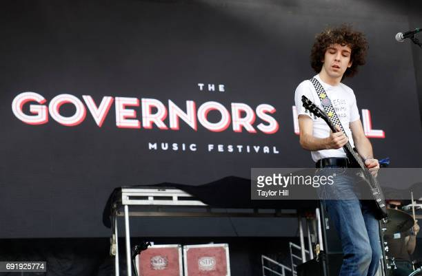 Guitarist Ethan Ives of Car Seat Headrest performs live onstage during 2017 Governors Ball Music Festival Day 2 at Randall's Island on June 3 2017 in...