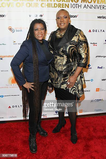 Guitarist Felicia Collins and singer Alyson Williams attend 'For the Love Of Our Children Gala' hosted by the National CARES Mentoring Movement on...