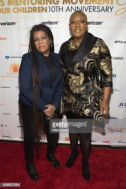 Guitarist Felicia Collins and singer Alyson Williams attend the 2016 National CARES Mentoring Movement 'For the Love Of Our Children' Gala at 583...