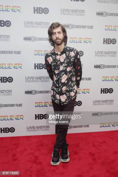 Guitarist for Imagine Dragons Wayne Sermon attends the Believer New York Premiere at Metrograph on June 18 2018 in New York City