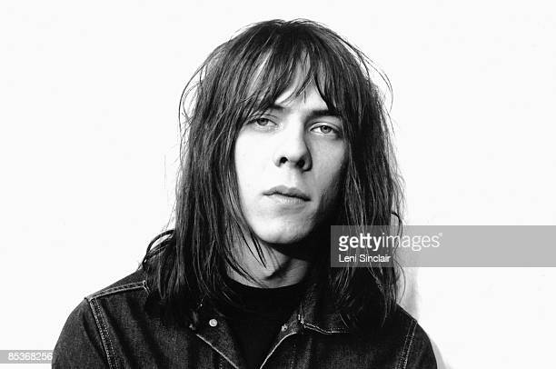 Guitarist Fred Sonic Smith of the group MC5 poses for a portrait in 1968 in Detroit Michigan