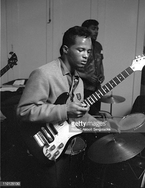 A guitarist from the musical 'Opportunity Please Knock' a show whose cast included members of the Almighty Blackstone Rangers gang and students from...