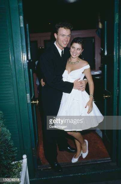 Guitarist Gary Kemp of British pop group Spandau Ballet marries actress Sadie Frost 7th May 1988