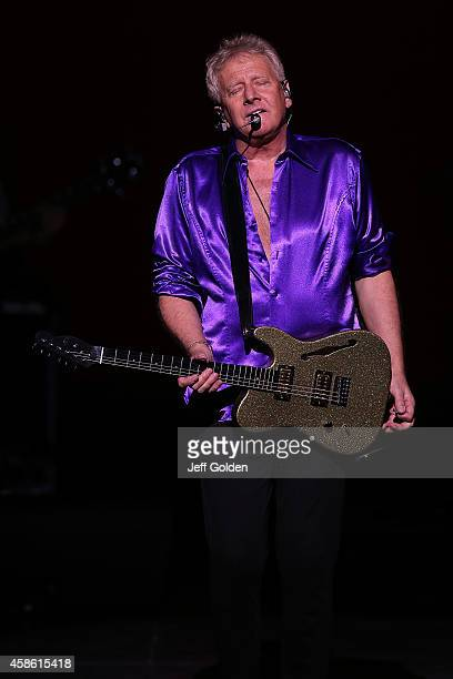 Guitarist Graham Russell of Air Supply performs at Thousand Oaks Civic Arts Plaza on November 7 2014 in Thousand Oaks California