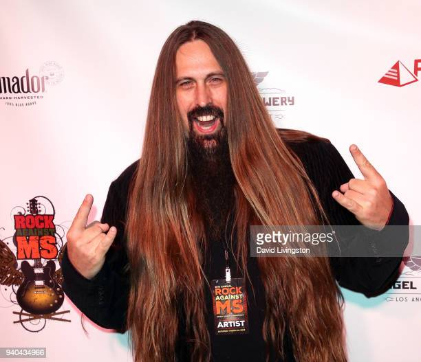Guitarist Ira Black attends the 6th Annual Rock Against MS benefit concert and award show at the Los Angeles Theatre on March 31 2018 in Los Angeles...