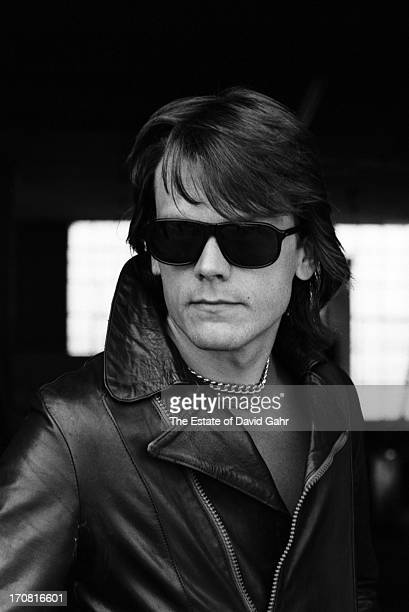 Guitarist J Geils of the R and B influenced blues rock band The J Geils Band poses for a portrait on May 20 1977 in Boston Massachusetts
