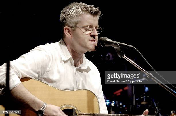 Guitarist James Graydon performs live on stage at Ronnie Scott's Jazz Club in Soho London on 16th July 2006