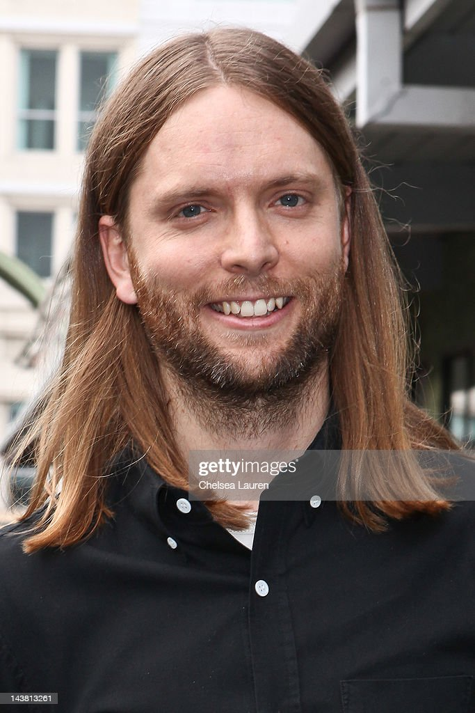 Guitarist James Valentine Of Maroon 5 Attends The MI Conversation Series At  Musicians Institute Concert Hall