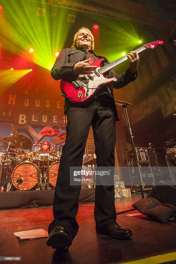 Guitarist James Young of Styx performs at the House of Blues on January 17, 2013 in New Orleans, Louisiana.