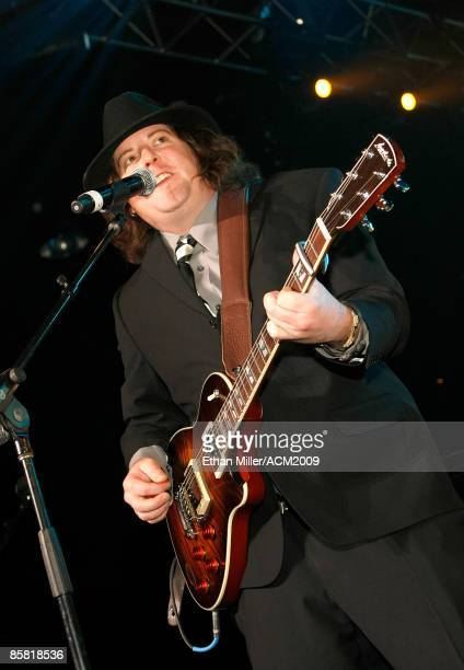 Guitarist James Young of the Eli Young Band performs during the 44th annual Academy of Country Music Awards AllStar Jam at the MGM Grand Hotel/Casino...