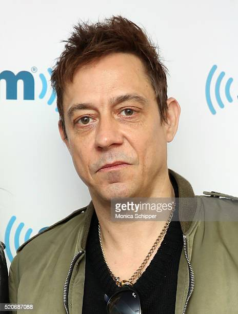 Guitarist Jamie Hince of The Kills visits SiriusXM Studio on April 12 2016 in New York City