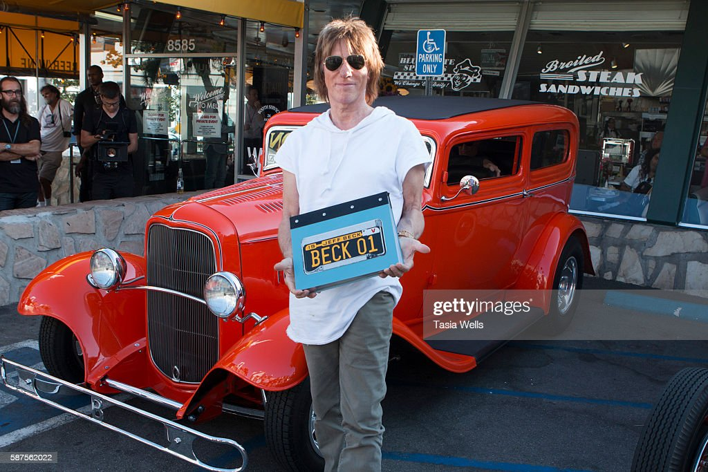 "Jeff Beck Fan Meet And Greet In Celebration Of New Book ""BECK01"""