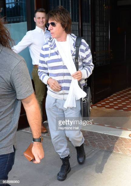 Guitarist Jeff Beck is seen walking in Soho on May 2 2018 in New York City