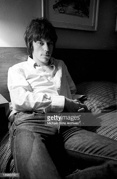 Guitarist Jeff Beck poses for a portrait on June 25 1968 in New York New York
