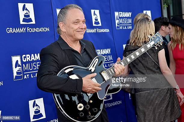 Guitarist Jimmie Vaughan at Icon The Life And Legacy Of BB King a live tribute concert presented by the GRAMMY Foundation and GRAMMY Museum and...