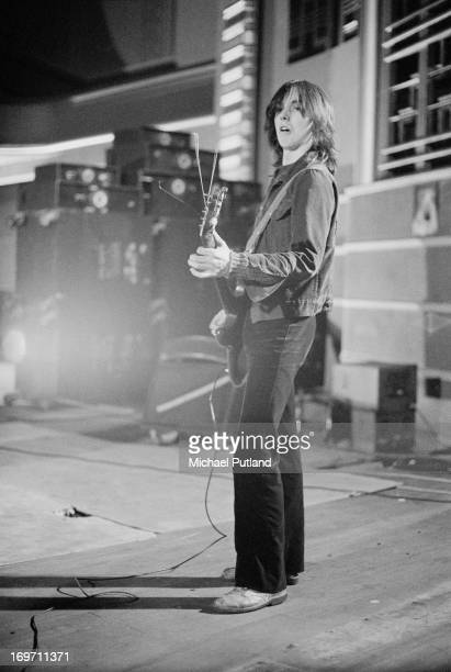 Guitarist Jimmy McCulloch of Scottish group Stone The Crows 22nd June 1972