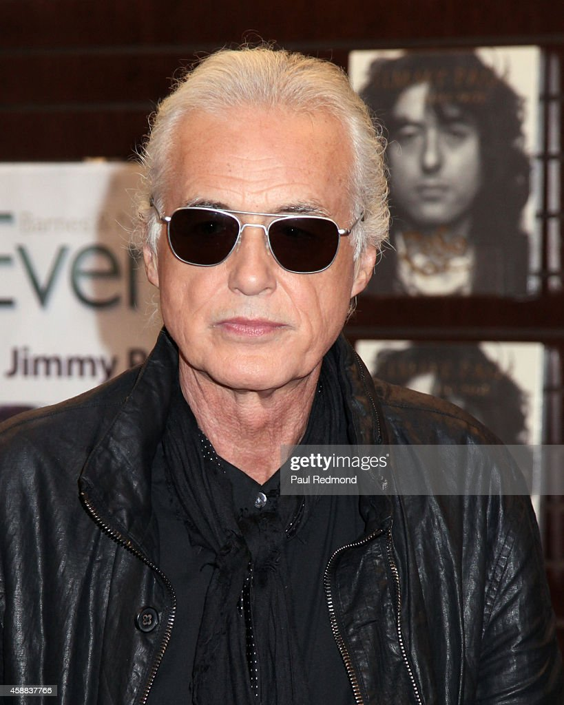 """""""Jimmy Page By Jimmy Page"""" Book Signing"""