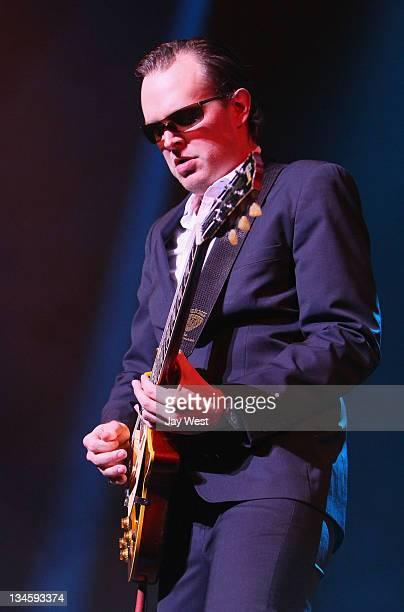 Guitarist Joe Bonamassa performs in concert at ACL Live on December 2 2011 in Austin Texas