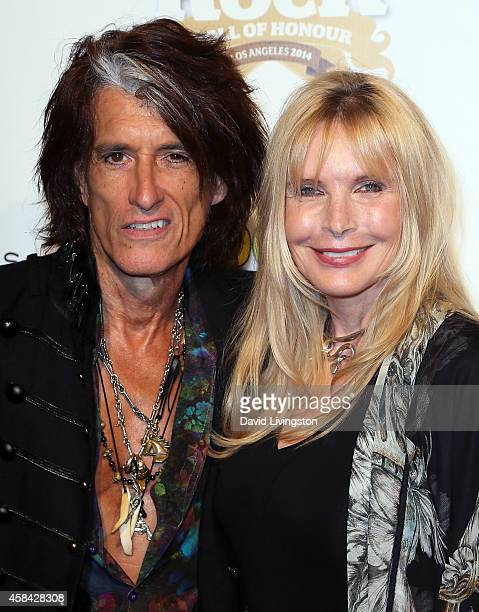 Guitarist Joe Perry and wife Billie Paulette Montgomery attend the 10th Annual Classic Rock Awards at Avalon on November 4, 2014 in Hollywood,...