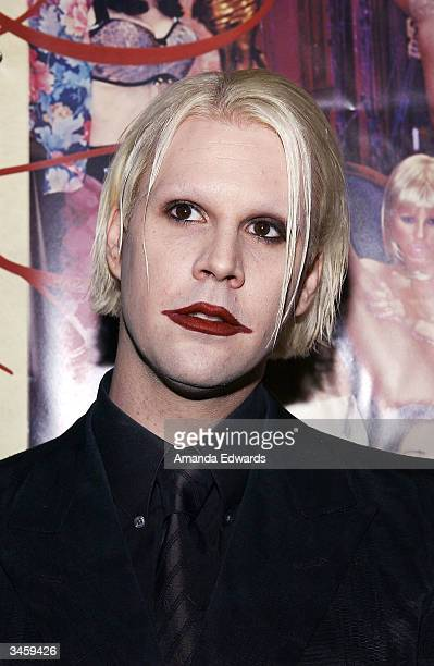 Guitarist John 5 arrives at the record release party for Gene Simmons' 'Asshole' on April 22 2004 at the Key Club in West Hollywood California
