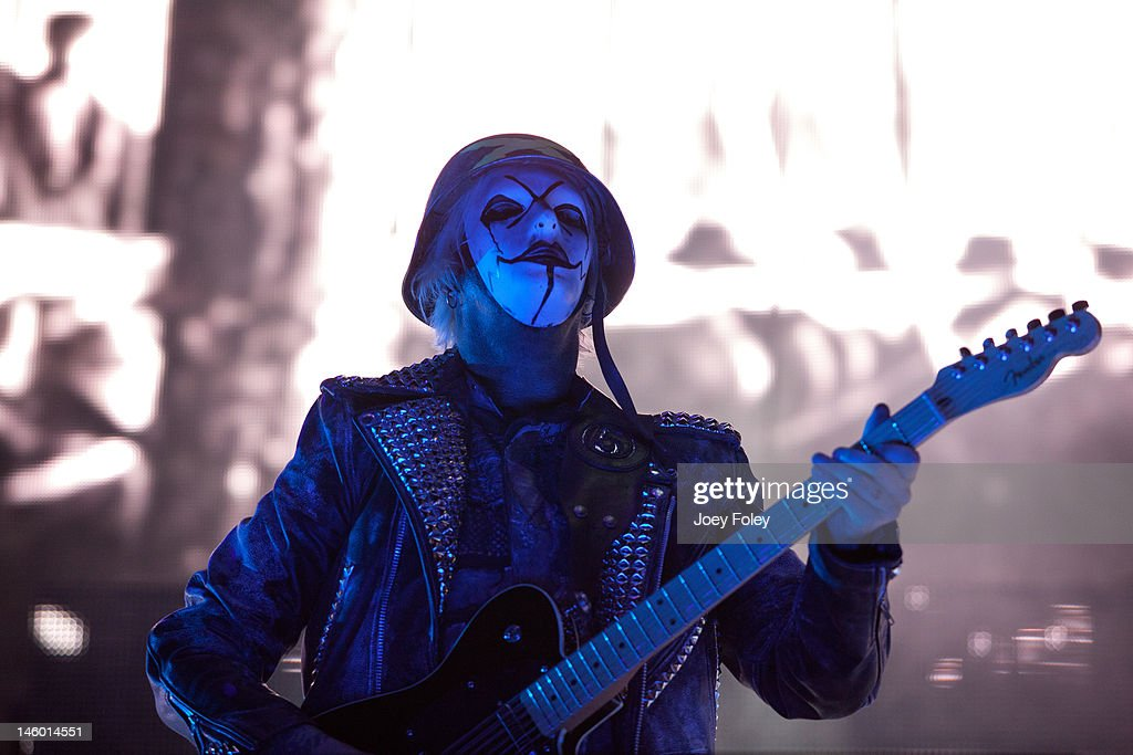 Guitarist John 5 of Rob Zombie performs live during the 2012 Rock On The Range festival at Crew Stadium on May 20, 2012 in Columbus, Ohio.