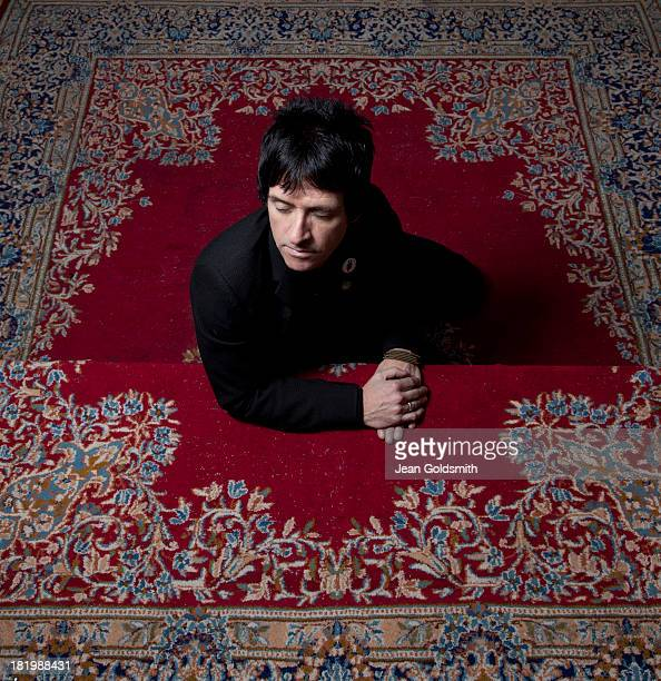 Guitarist Johnny Marr is photographed for Die Zeit magazine on May 2 2013 in London England