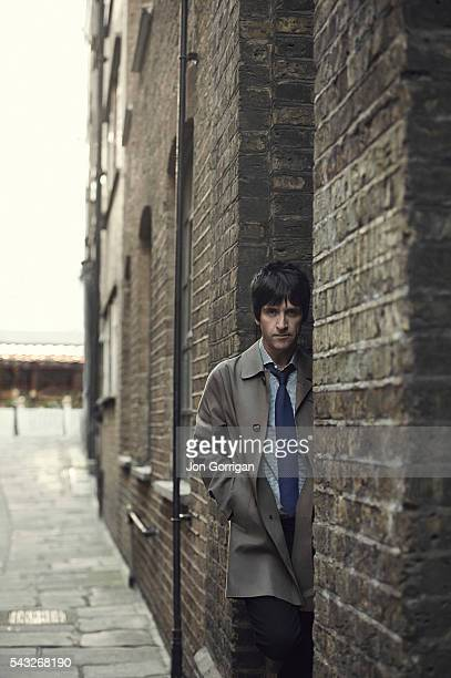 Guitarist Johnny Marr is photographed for Esquire magazine on February 20 2014 in London England