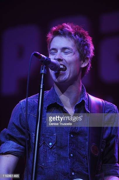 Guitarist Jonny Lang performs at the Experience Hendrix Live at the Pearl in the Palms Casino Resort on November 1 2008 in Las Vegas Nevada