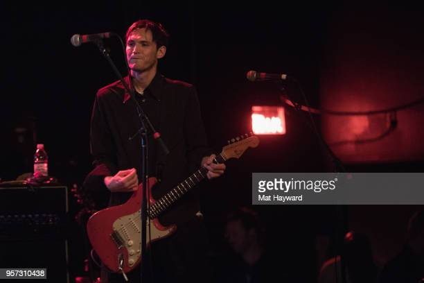 Guitarist Josh Klinghoffer of The Red Hot Chili Peppers performs on stage during the MusiCares Concert For Recovery presented by Amazon Music at the...