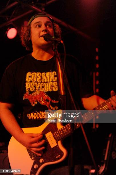 Guitarist Josh Price of The Chats performs on stage at Cassiopeia November 18 2019 in Berlin Germany
