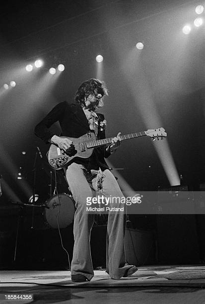 Guitarist Keith Richards performing with the Rolling Stones at the Deutschlandhalle Berlin 19th October 1973