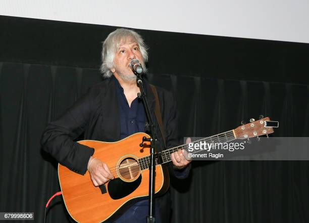 Guitarist Lee Ranaldo performs during the 2017 Montclair Film Festival on May 6 2017 in Montclair New Jersey