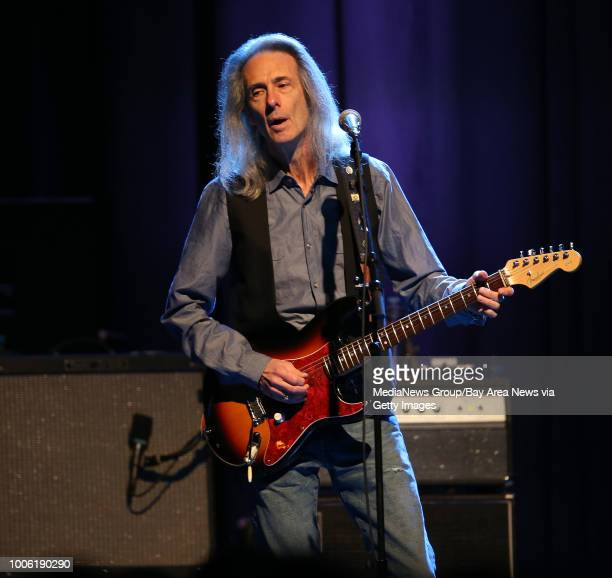 Guitarist Lenny Kaye performs with Patti Smith during a soldout show at The Fillmore in San Francisco Calif on Wednesday Jan 21 2015 Smith also an...