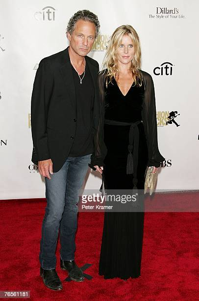 Guitarist Lindsey Buckingham and his wife Kristen attend the Conde Nast Media Group's Fourth Annual Fashion Rocks Concert at Radio City Music Hall...