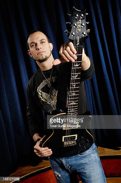 Guitarist Mark Tremonti of American hard rock group Alter Bridge taken on September 17 2007