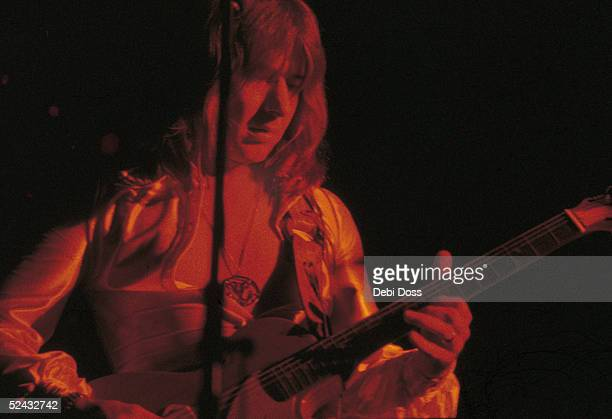 Guitarist Mick Ralphs of British rock group Mott The Hoople performing at the Rainbow Theatre London 13th October 1972