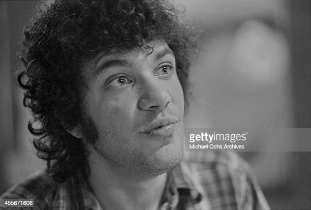 Guitarist Mike Bloomfield poses for a portrait circa 1976 in San Francisco California
