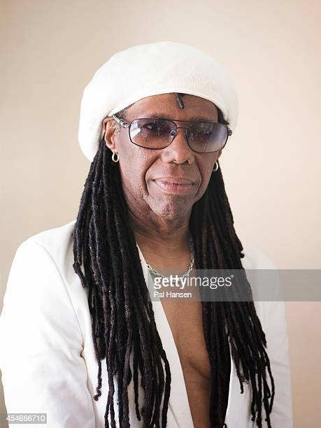 Guitarist music producer and founder of Chic Nile Rodgers is photographed for Independent on July 13 2013 in London England