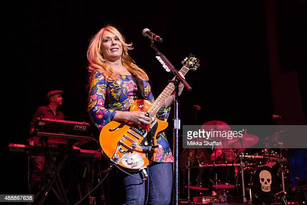 Guitarist Nancy Wilson of Heart performs at The Masonic Auditorium on September 17, 2015 in San Francisco, California.
