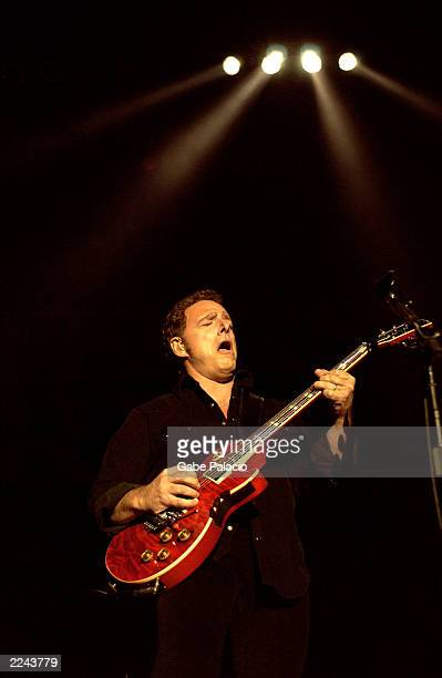 Guitarist Neal Schon of Journey performing at the Volunteers for America rock benefit concert at the HiFi Buys Amphitheatre in Atlanta Georgia on...