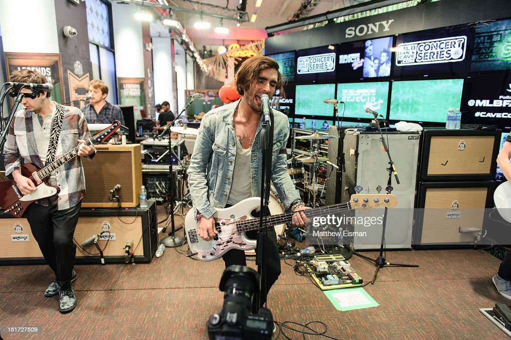 2012 MLB Fan Cave Concert Series - All American Rejects
