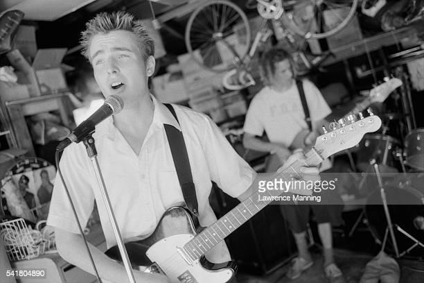 Guitarist of Garage Band